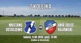 2 kolejka: Mustang Ostaszewo - Unia Solec Kujawski