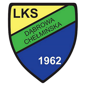 Herb klubu LKS Wulkanizacja Dąbrowa Chełmińska