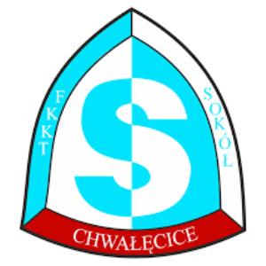 Herb klubu TKKF Sokół Chwałęcice