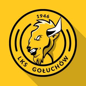 Herb klubu LKS II Gołuchów