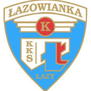 Herb klubu MKS ŁAZOWIANKA - WYSOKA ŁAZY