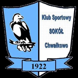 Herb klubu Sokół Chwałkowo