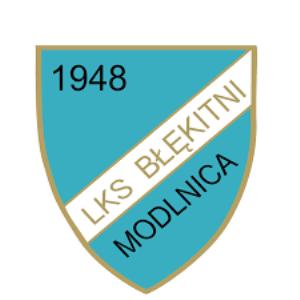 Herb klubu Błękitni II Modlnica