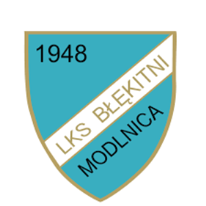 Herb klubu Błękitni Modlnica