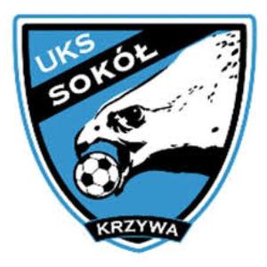 Herb klubu Sokół Krzywa