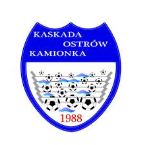 Herb klubu KS Kaskada Ostrów - Kamionka