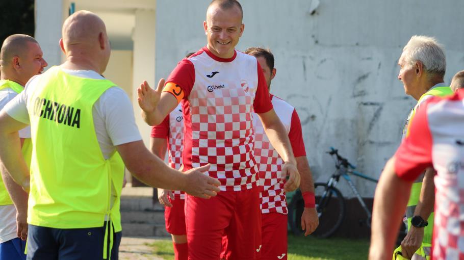 Zawodnicy Jana Luzara przed meczem z Sędziszowem!