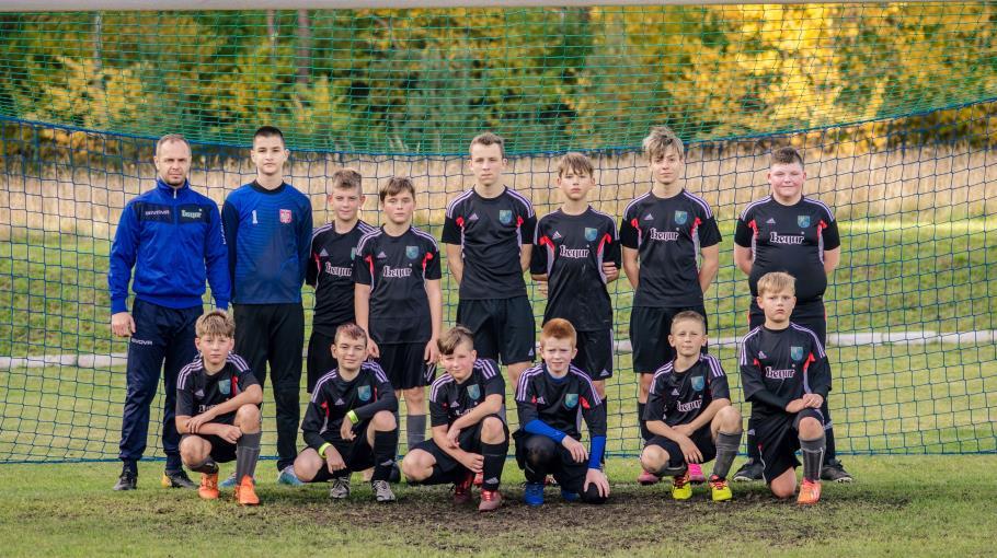 Zdjęcie grupowe drużyny Garbarnia Kępice Junior C 2