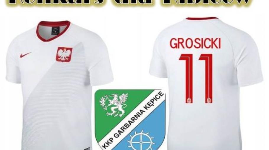 Konkurs dla kibiców o koszulkę K. Grosickiego!