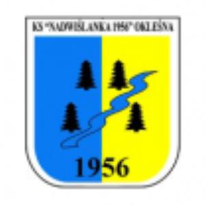 Herb klubu Nadwiślanka 1956 Okleśna