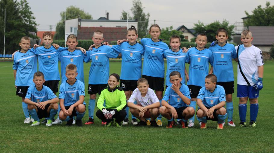 Zdjęcie grupowe drużyny Młodzik