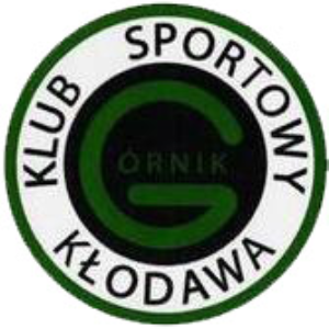 Herb klubu GÓRNIK KŁODAWA  ORLIK 2010/2011