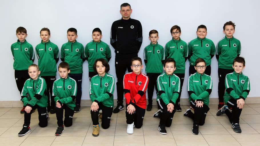 Zdjęcie grupowe drużyny GÓRNIK KŁODAWA  - ORLIK STARSZY