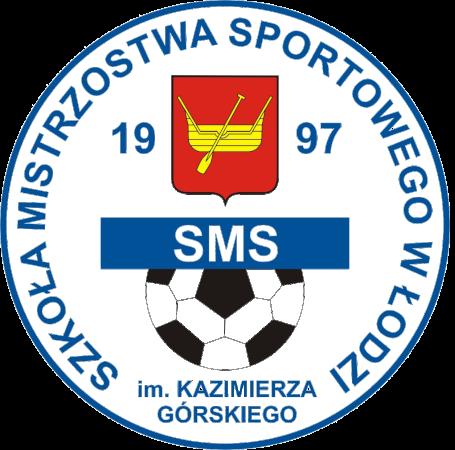 Herb klubu AKS SMS ŁÓDŹ r.2010