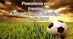 TRENING KADRY POWATU KOLSKIEGO r. 2011