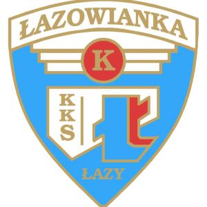 Herb klubu Łazowianka Łazy