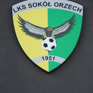 Herb klubu Sokół Orzech