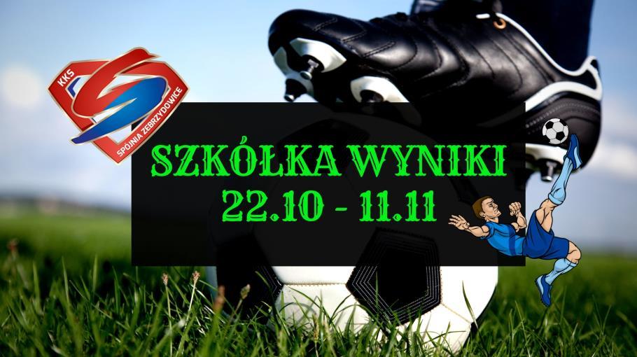 Szkółka wyniki 22.10-11.11