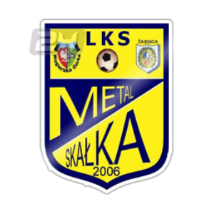Herb klubu LKS METAL W.G.-SKAŁKA ŻABNICA