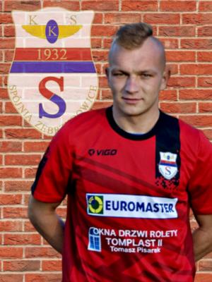 Zdjęcie członka Tomasz  Śleziona w klubie KKS Spójnia Zebrzydowice