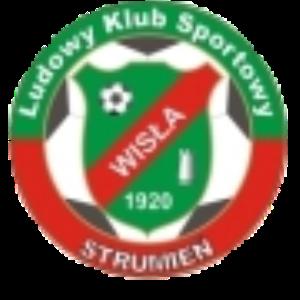 Herb klubu LKS Wisła Strumień