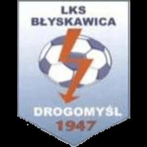 Herb klubu LKS Błyskawica Drogomyśl