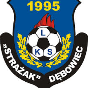 Herb klubu LKS Strażak Dębowiec