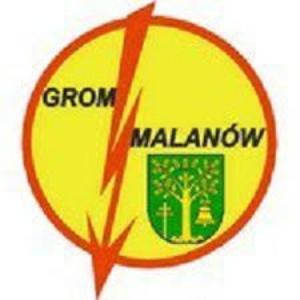 Herb klubu Grom Malanów