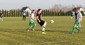 Mecz kontrolny z Juniorami Orła Kawęczyn