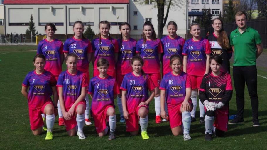 Zdjęcie grupowe drużyny LFA Turek