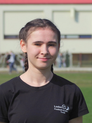 Zdjęcie członka Oliwia Kuras w klubie Ladies Football Academy Turek