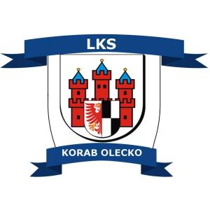 Herb klubu Lekkoatletyczny Klub Sportowy Korab Olecko