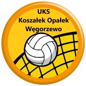 Herb klubu UKS Koszałek Opałek Węgorzewo - siatkówka