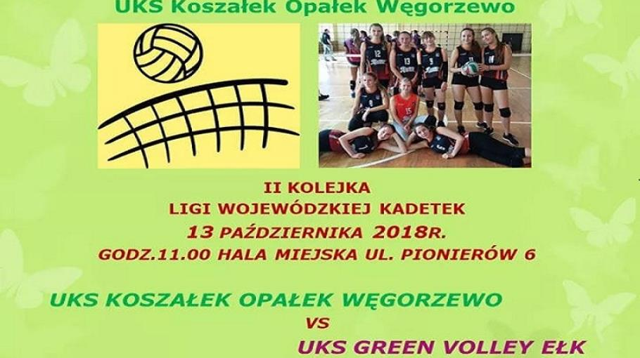 UKS Green Volley Ełk pokonany