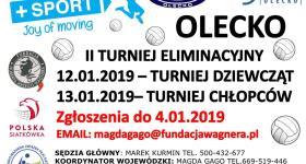 II Turniej Eliminacyjny mini siatkówki w Olecku