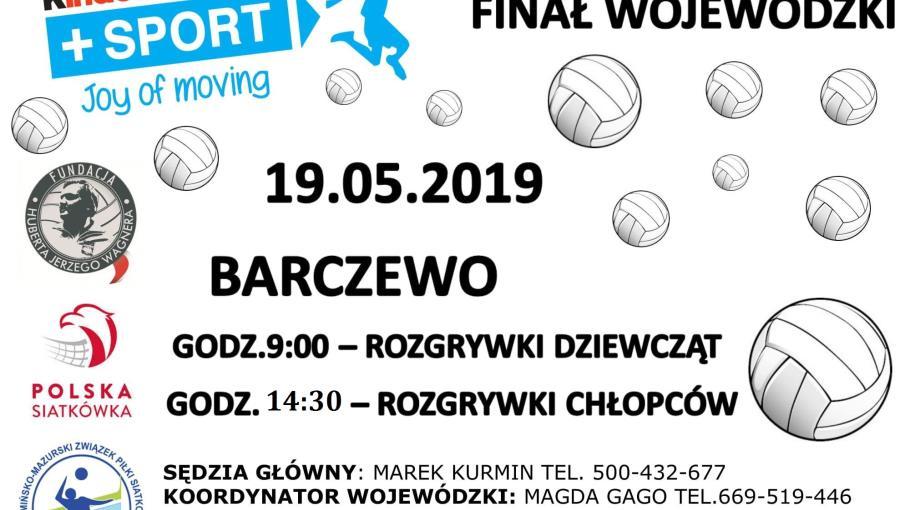 Finał Wojewódzki w Mini Siatkówce - Barczewo