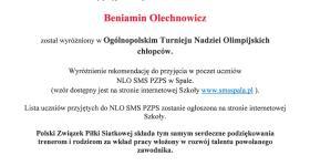 Siatkarz Koszałka w SMS Spała!!!
