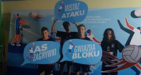 Koszałki w Wielkim Finale Minisiatkówki w Zabrzu