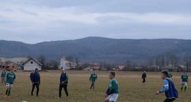Sparing z juniorami Zamczyska Mrukowa